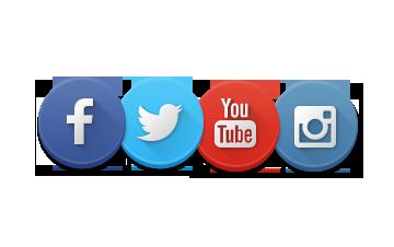 Image result for facebook,twitter,instagram website logo
