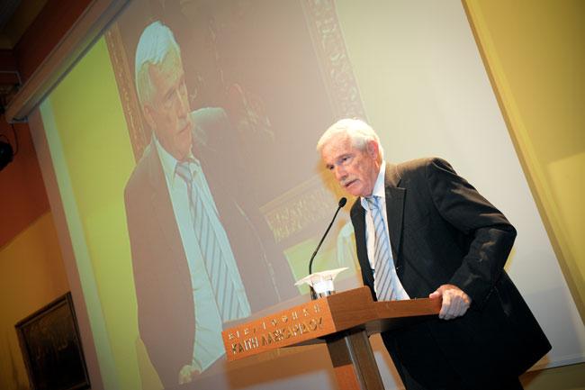 Ο Πρόεδρος του Ιδρύματος, κ. Παναγιώτης Λασκαρίδης