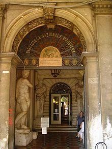 Ingresso_della_biblioteca_nazionale_marciana